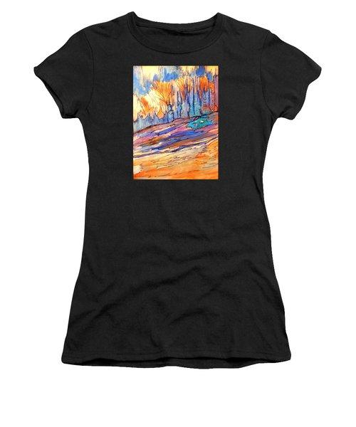 Aspen Abstract Women's T-Shirt