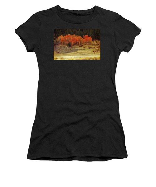 Aspen, October, Hope Valley Women's T-Shirt (Athletic Fit)