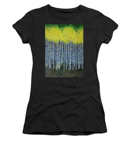 Aspen Stand The Painting Women's T-Shirt