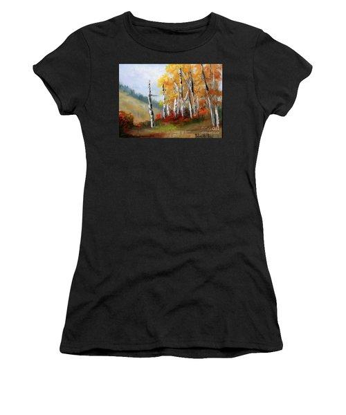 Aspens En Plein Air Women's T-Shirt (Athletic Fit)