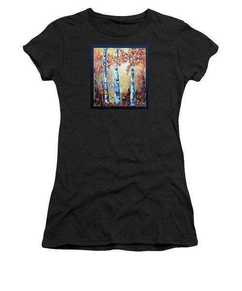 Aspens In Glow Women's T-Shirt