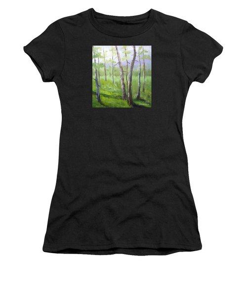 Aspens Soaring Women's T-Shirt (Athletic Fit)