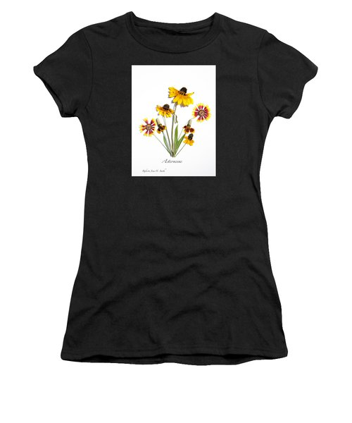 Asteraceae Women's T-Shirt (Athletic Fit)
