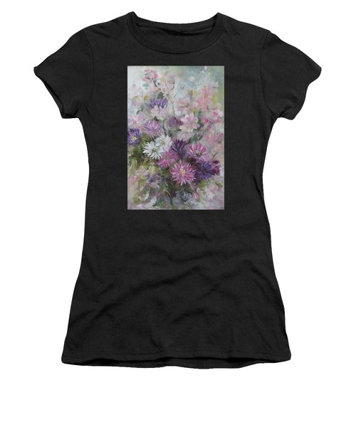 Asters And Stocks Women's T-Shirt