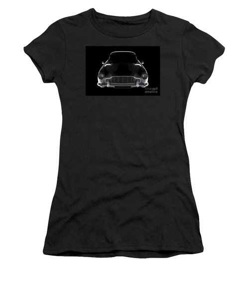 Aston Martin Db5 - Front View Women's T-Shirt (Athletic Fit)
