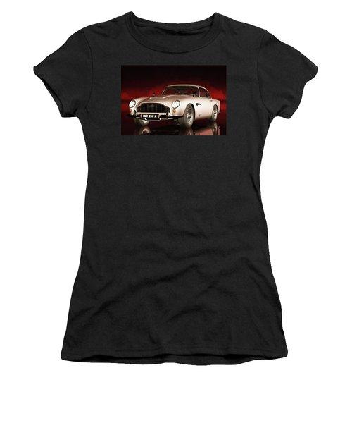 Aston Martin Db5 Women's T-Shirt (Athletic Fit)