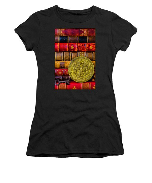 Astrolabe And Old Books Women's T-Shirt