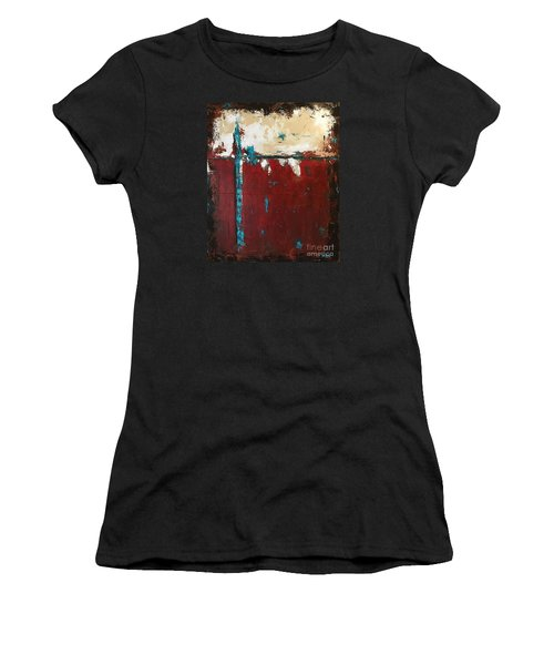 At A Crossroad  Women's T-Shirt (Athletic Fit)