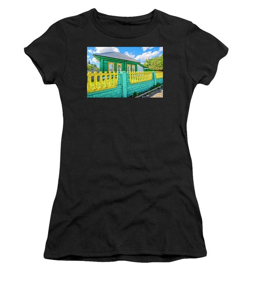 At Home In Belarus Women's T-Shirt