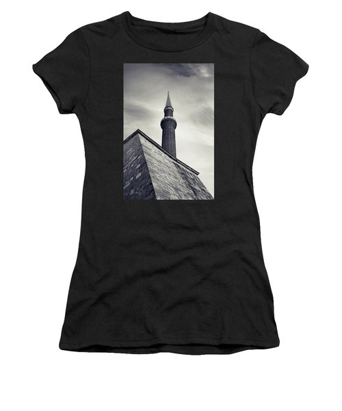 Women's T-Shirt (Athletic Fit) featuring the photograph At Mosque-point by Joseph Westrupp