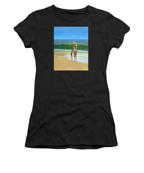 At The Beach Women's T-Shirt
