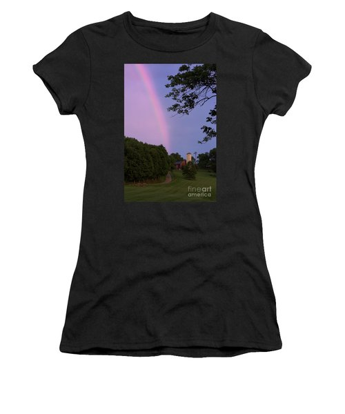 At The End Of The Rainbow Women's T-Shirt (Athletic Fit)
