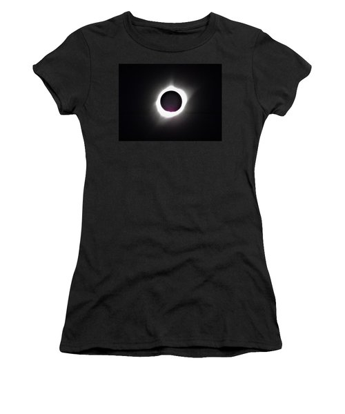 At The Moment Of Totality Women's T-Shirt