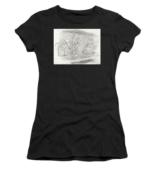 Bird Skeletons Women's T-Shirt (Athletic Fit)