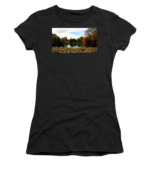 At The Park Women's T-Shirt (Athletic Fit)