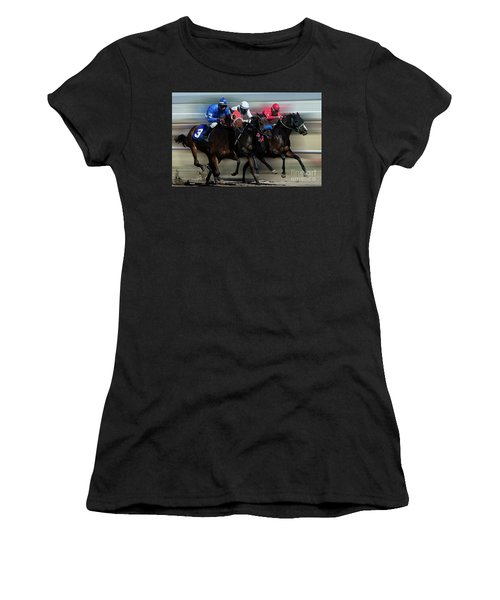 At The Racetrack 2 Women's T-Shirt