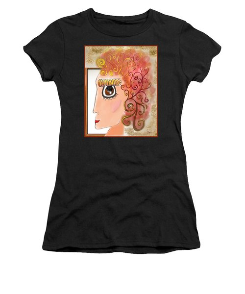Athena In The Mirror Women's T-Shirt
