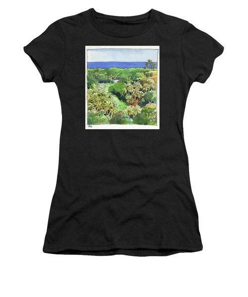 Atiu Lake View Women's T-Shirt