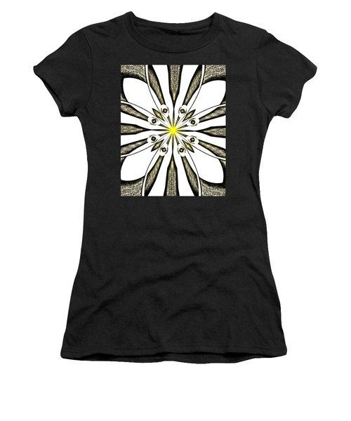 Atomic Lotus No. 3 Women's T-Shirt (Athletic Fit)