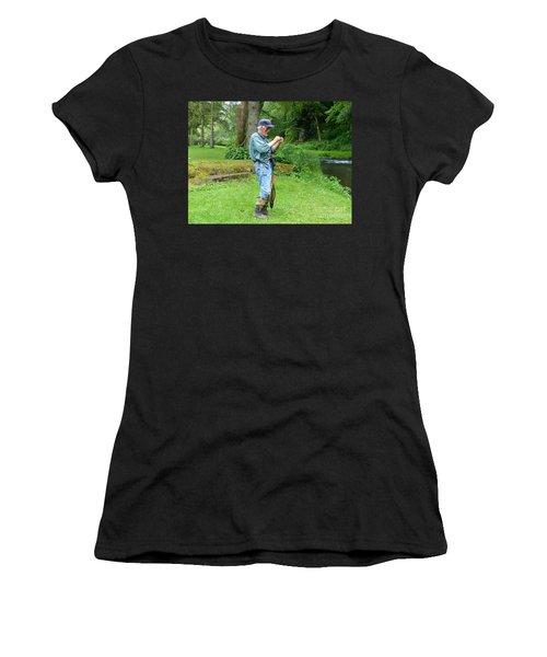 Attaching The Lure Women's T-Shirt
