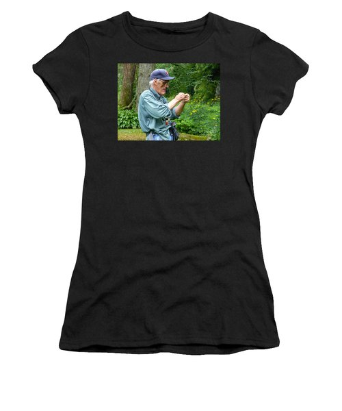 Attaching The Lure Up Close Women's T-Shirt