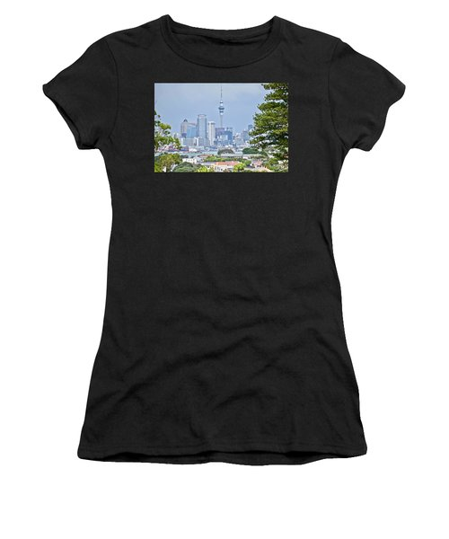 Auckland City C B D Women's T-Shirt (Athletic Fit)