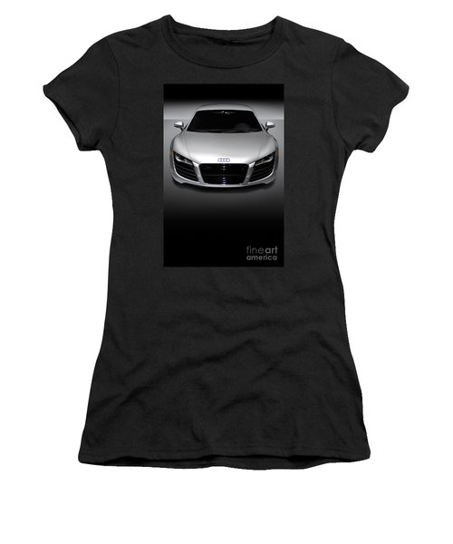 Audi R8 Sports Car Women's T-Shirt (Athletic Fit)