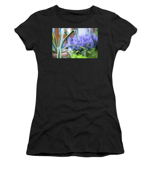 Women's T-Shirt featuring the photograph Audrey IIi by Brian Hale