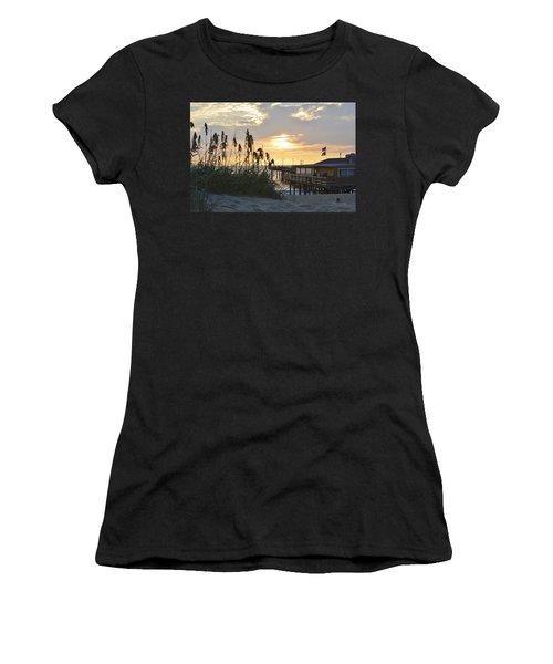 August Sunrise On The Obx  Women's T-Shirt