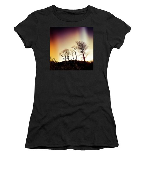 Aurora Borealis Women's T-Shirt