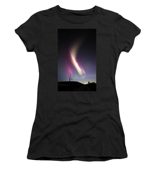 Auroral Phenomonen Called Steve 1 Women's T-Shirt