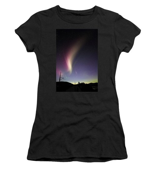 Auroral Phenomonen Known As Steve 2 Women's T-Shirt
