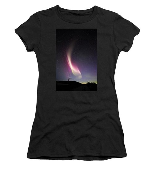 auroral Phenomonen known as Steve 3 Women's T-Shirt