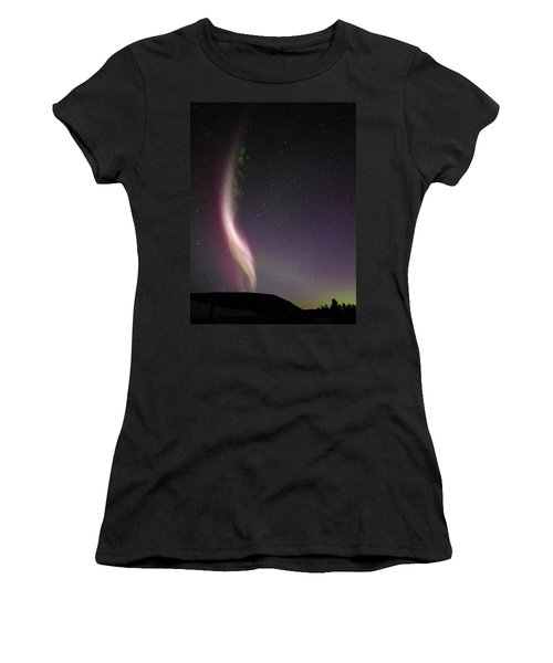 Auroral Phenomonen Known As Steve, 7 Women's T-Shirt