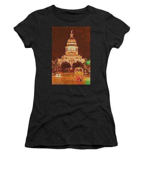 Austin Capitol At Night Women's T-Shirt