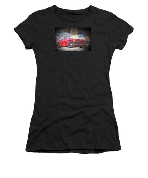 Austin Healey Chalk Study 4 Women's T-Shirt