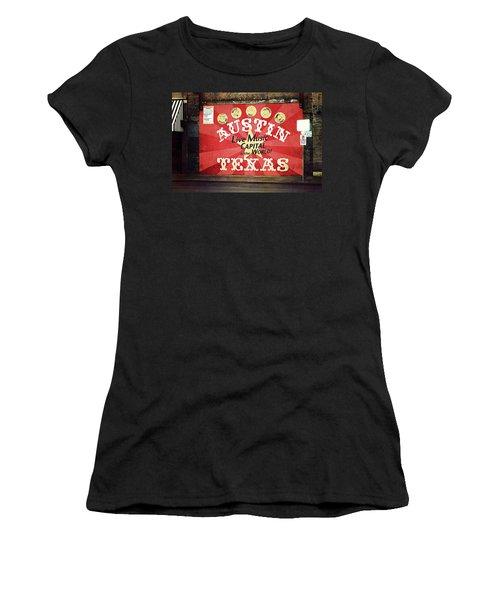 Austin Live Music Women's T-Shirt