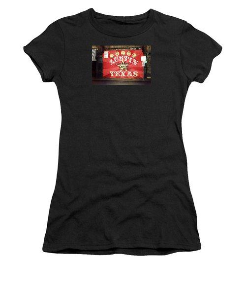 Austin Live Music Women's T-Shirt (Athletic Fit)