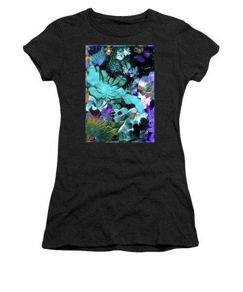 Australian Emerald Begonias Women's T-Shirt