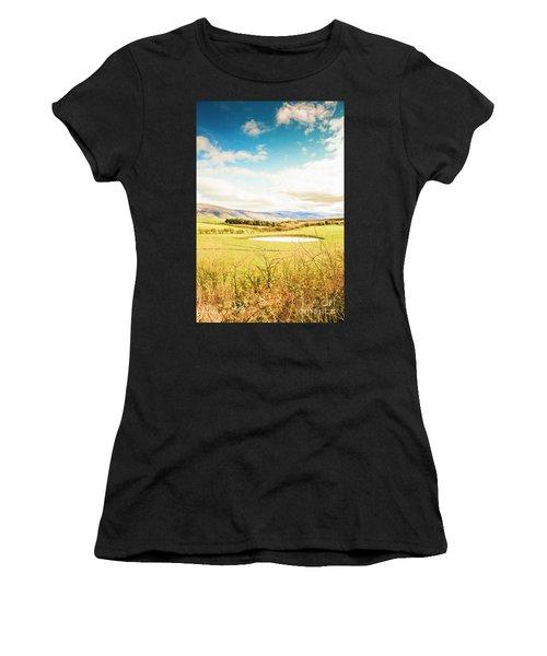 Australian Open Spaces  Women's T-Shirt