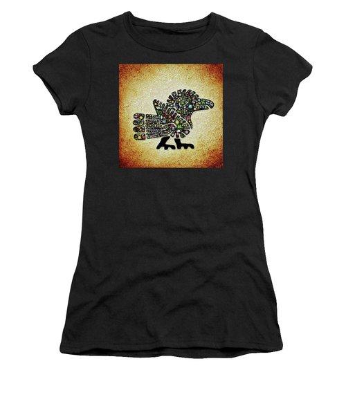 Authentic Aztec Wall Art Women's T-Shirt