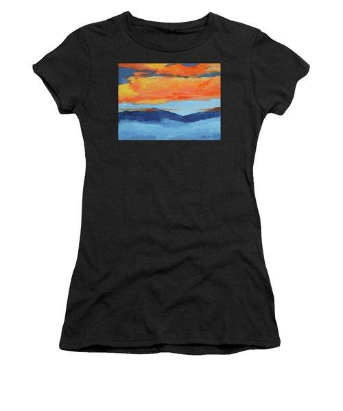 Autumn Alpenglow Women's T-Shirt (Athletic Fit)