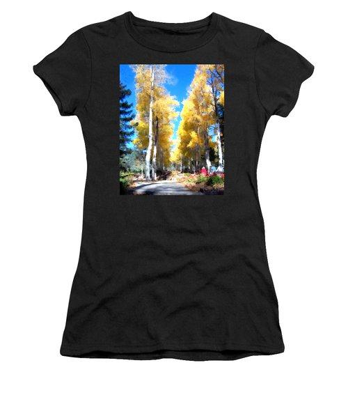 Autumn Aspens Women's T-Shirt