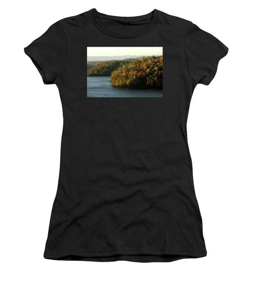 Autumn At Philpott Lake, Virginia Women's T-Shirt