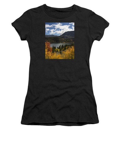 Autumn At Rock Creek Lake 2 Women's T-Shirt (Athletic Fit)
