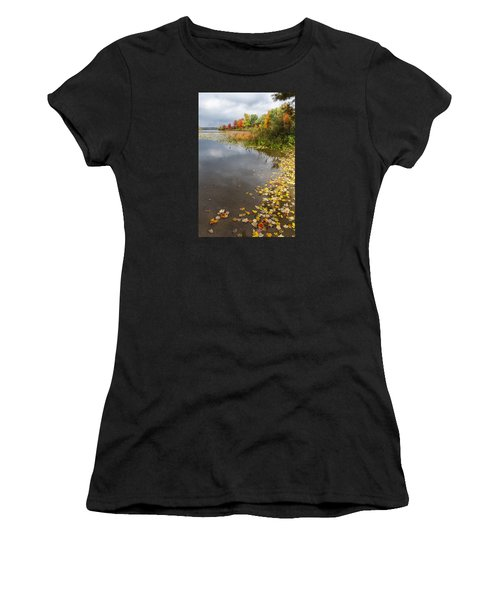 Autumn At The Lake In Nh Women's T-Shirt