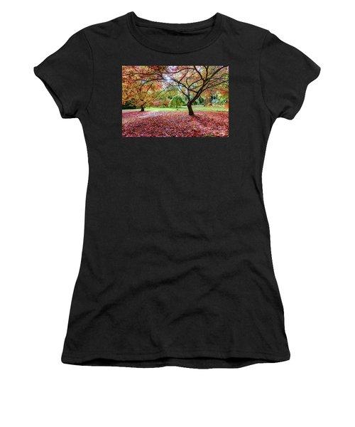 Autumn At Westonbirt Arboretum Women's T-Shirt (Athletic Fit)