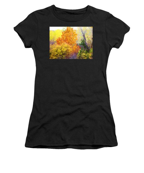 Autumn Blaze  Women's T-Shirt (Athletic Fit)