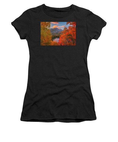 Autumn's Breath Women's T-Shirt (Athletic Fit)