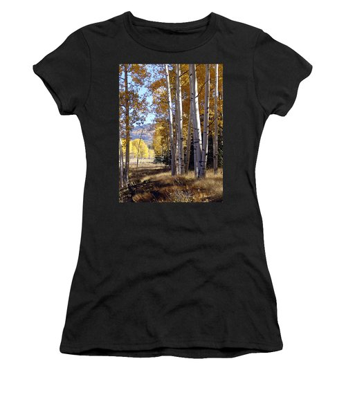 Autumn Chama New Mexico Women's T-Shirt (Athletic Fit)